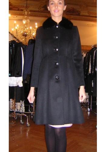 BLUMARINE    Cappotto nero