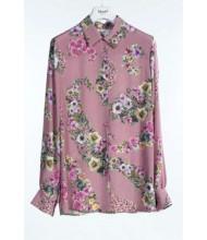 BLUGIRL di Blumarine Camicia rosa floreale