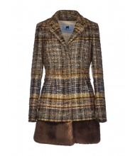 BLUMARINE  Giacca chanel lana oro