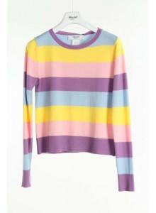BLUGIRL di Blumarine Casacca filo baiadera multicolor