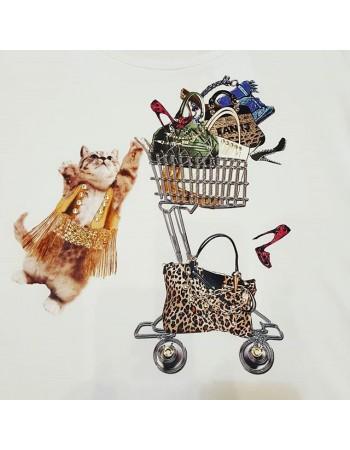 EAN 13  maglia Gatto shopping