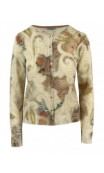 ANGELO MARANI Cardigan stucchi lurex