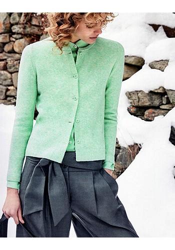 AMINA RUBINACCI    Cardigan verde